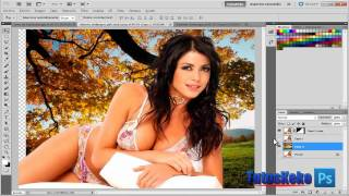 getlinkyoutube.com-Tutorial Photoshop CS5 // Extraccion Perfecta