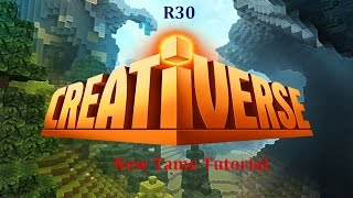 Creativerse R30 - How to tame easy / Tutorial