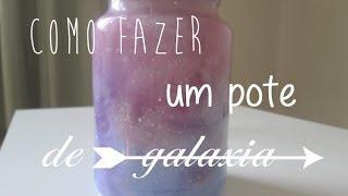 getlinkyoutube.com-D.I.Y - Como fazer um pote de galaxia (Bottle Nebula)