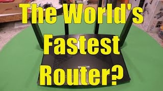 getlinkyoutube.com-Nighthawk X10 WiFi Router Review (AD7200), The World's Fastest Router?