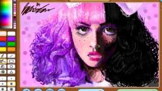 getlinkyoutube.com-Melanie Martinez Speedpaint |Animal Jam Art Studio