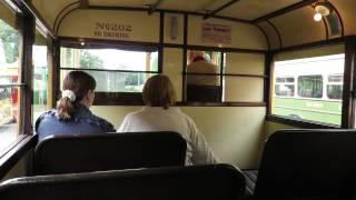 getlinkyoutube.com-Ride on Bournemouth 1935 trolleybus 202 (ALJ 986)