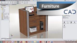 getlinkyoutube.com-Designing Furniture in SolidWorks
