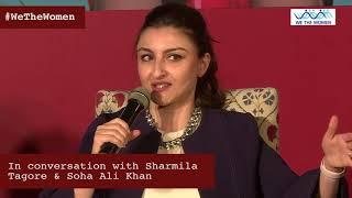 Sharmila Tagore & Soha Ali Khan speak to Barkha Dutt width=