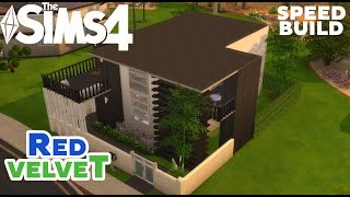 getlinkyoutube.com-The Sims 4 - House Building - Red Velvet