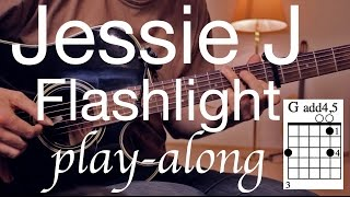 Flashlight - Jessie J  Guitar Lesson / Guitar Tutorial / Guitar Cover / (Pitch Perfect 2)