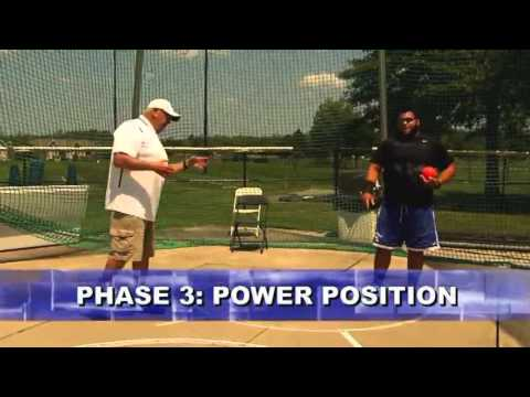 Utilize Power Position for Further Shot Put Throws! - Track 2016 #6