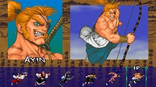 getlinkyoutube.com-Sengoku Blade (Arcade/Psikyo/1996 Ayin) [720p]