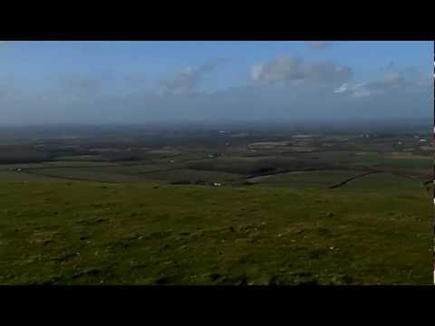 360 panorama from the the top of Fulking Hill