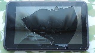 getlinkyoutube.com-Что делать если разбился Touchscreen планшета? Запускаем планшет с разбитым Touchscreen.