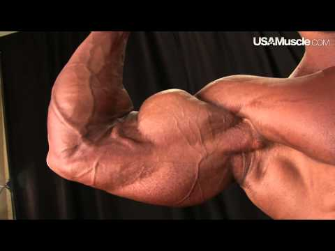 2012 IFBB PBW Tampa Pro Men's Pump Room Part 1
