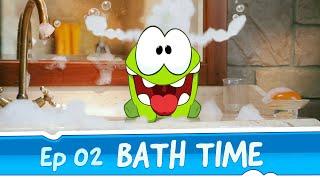 getlinkyoutube.com-Om Nom Stories: Bath Time (Episode 2, Cut the Rope)