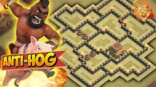 getlinkyoutube.com-Clash of Clans - ANTI-THREE STAR BEST TOWNHALL 8 (TH8) Anti-Hog CLAN WARS/TROPHY BASE!