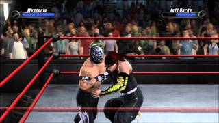 getlinkyoutube.com-Smackdown vs Raw 2008 - Rey Mysterio vs Jeff Hardy