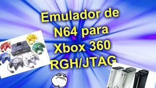 getlinkyoutube.com-Cómo instalar emulador de Nintendo 64 en Xbox 360 RGH/JTAG