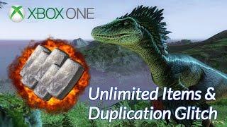 getlinkyoutube.com-Ark Survival Evolved Xbox One: Duplication Glitch / Items Glitch (Patched)