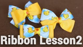 getlinkyoutube.com-【DIY】色んなリボンの作り方♡バリエーション【Ribbon Lesson2】How to make cute ribbons