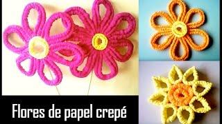 getlinkyoutube.com-FLOR DE PAPEL CREPE modificado