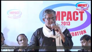 Motivational Words by Tanikella Bharani at IMPACT 2013