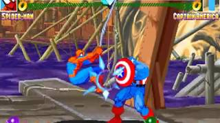 getlinkyoutube.com-Marvel Super Heroes (Arcade) Spider-Man Run
