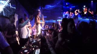 getlinkyoutube.com-Swedish House Mafia - Don't You Worry Child (Syntheticsax Live Mash-Up in the Grey club Poland)