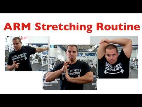 ARM Stretches To Do After Your Workout