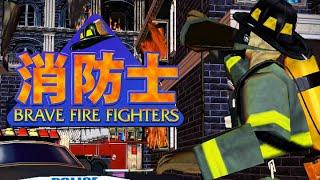 getlinkyoutube.com-Brave Fire Fighters - Attract+Gameplay (Hikaru) (1999) [60FPS]