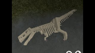 getlinkyoutube.com-{Closed Event} [Roblox] Dinosaur Simulator - Skeleton Skins Tutorial /w Lego
