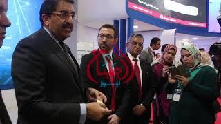 """""""سرحان"""" يتحدث عن مشاركة """"E- FINANCE"""" بمعرض CAIRO ICT"""