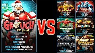 getlinkyoutube.com-Real Steel WRB GROUCH (Grinch) ROBOTS Series of fights | Christmas | NEW ROBOT (Живая Сталь)