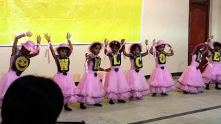 getlinkyoutube.com-Welcome Dance by Pre Kinder Garden 2015