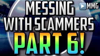 getlinkyoutube.com-Messing With Scammers! Part 6 (You Like What?) Madden Mobile