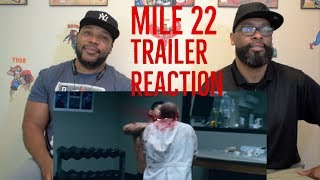 Mile 22 Trailer Reaction