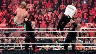 getlinkyoutube.com-Undertaker and Kane fight off their attackers: Raw, July 23, 2012