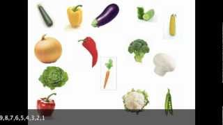 Learn English Vocabulary Vegetables