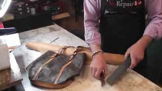 getlinkyoutube.com-Louis Vuitton Handbag Repair - Replacing the lining on a Louis Vuitton bag