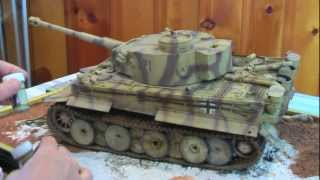 getlinkyoutube.com-Painting and Detailing a 1/16th Scale Tiger 1