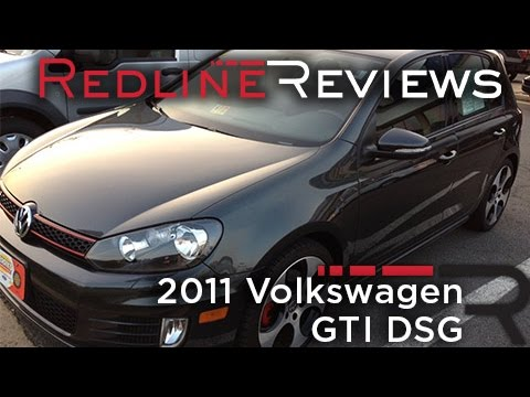 2011 Volkswagen GTI DSG Walkaround, Exhaust, Review, Test Drive