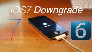 getlinkyoutube.com-Downgrade from iOS 7 Beta to iOS 6