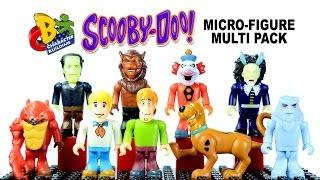 getlinkyoutube.com-Scooby-Doo Character Building Micro Figure 5 Pack Set A & B