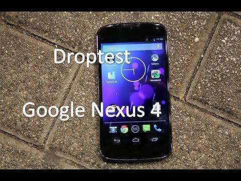 Google Nexus 4 - Droptest