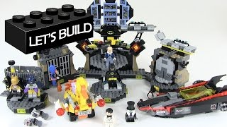 getlinkyoutube.com-Let's Build the LEGO Batman Movie Batcave Break-In Set 70909