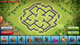 getlinkyoutube.com-Clash of Clans- Best town hall 9 farming base!