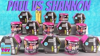 getlinkyoutube.com-Paul vs Shannon Challenege Monster High Fashems Minis Edition | PSToyReviews