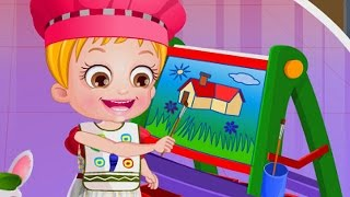 getlinkyoutube.com-Baby Hazel Learns Colors - Babies and Kids Educative Video Games - Dora The Explorer