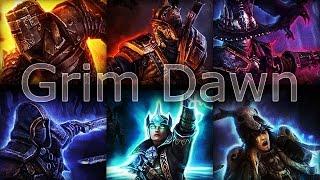 getlinkyoutube.com-Grim Dawn - Tanky Trozan Sword-n-Board Battlemage in Build 28