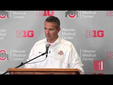 Urban Meyer talks about his love for player John Simon