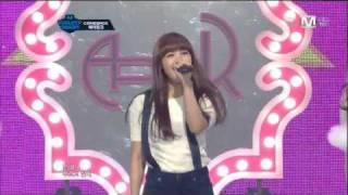 getlinkyoutube.com-[HD] Performance 111208 A Pink - My My ( Comeback 4th Stage )