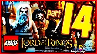 getlinkyoutube.com-Lego the lord of the rings - Walkthrough Part 14 SPIDER QUEEN SCARY