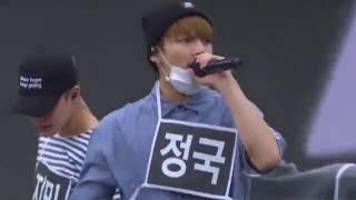 BTS - DOPE (쩔어) REHEARSAL (2016 K-POP WORLD FESTIVAL IN CHANGWON)